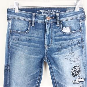 American Eagle Power Fit Jeggings